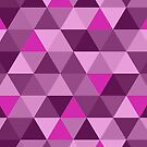 Large Pink Triangles Pattern by iopan