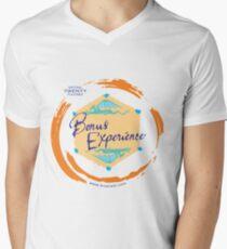 Sparkling Water BXP Logo - Orange Men's V-Neck T-Shirt
