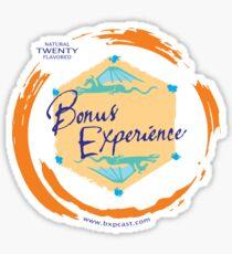 Sparkling Water BXP Logo - Orange Sticker