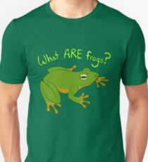 What ARE Frogs? (Basic edition) Slim Fit T-Shirt