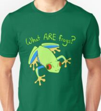 What ARE Frogs? (Tree edition) Slim Fit T-Shirt