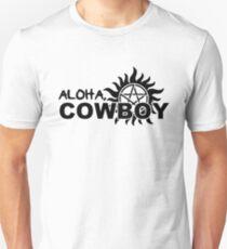 Aloha, Cowboy--SPN Season 10 Gag Reel T-Shirt