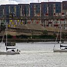 Sailing on the Thames by magiceye