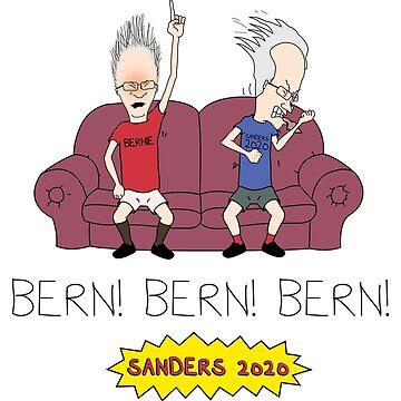 Bern! Bern! Bern! Bernie Sanders 2020 by baridesign
