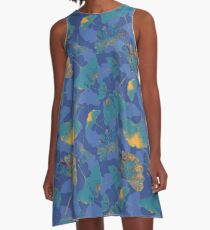 ginkgo dream pattern A-Line Dress