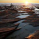 Rock pool sunset - Kalbarri by Miriam Shilling