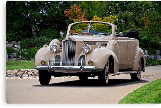 1940 Packard 120 Convertible Sedan I by DaveKoontz