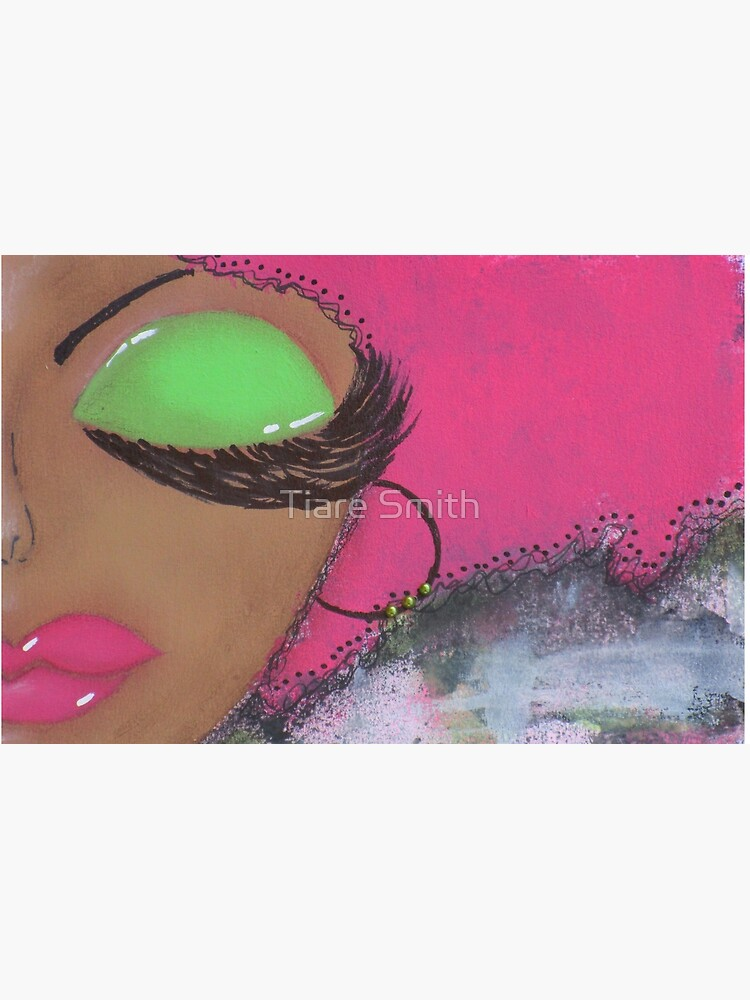 Sassy Girl Pink and Green  by classygirl