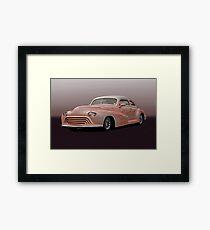 1946 Oldsmobile 'Custom' Sedanette Framed Print