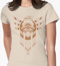 Tatouage des oiseaux Inca T-shirt col V femme