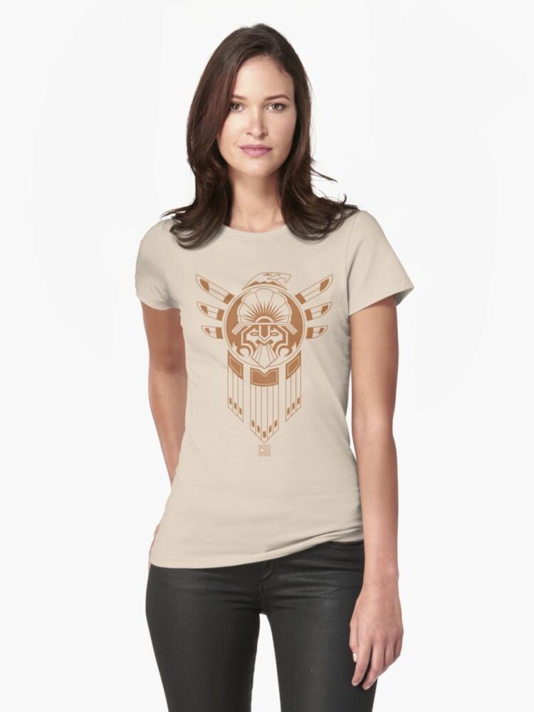 Inca Bird Tattoo Womens T-Shirt Front