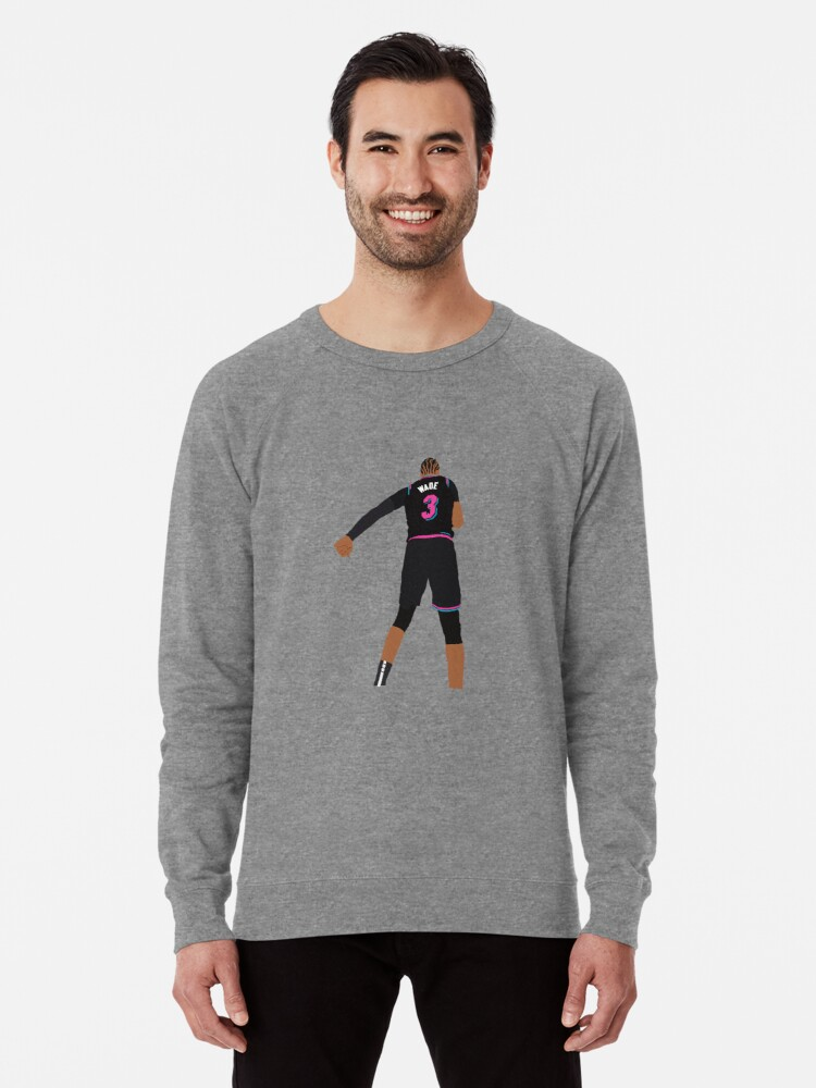 'Dwyane Wade 'This is my House' Minimalist Art // Phone Case, T-shirt,  Stickers and more' Lightweight Sweatshirt by PacPrints