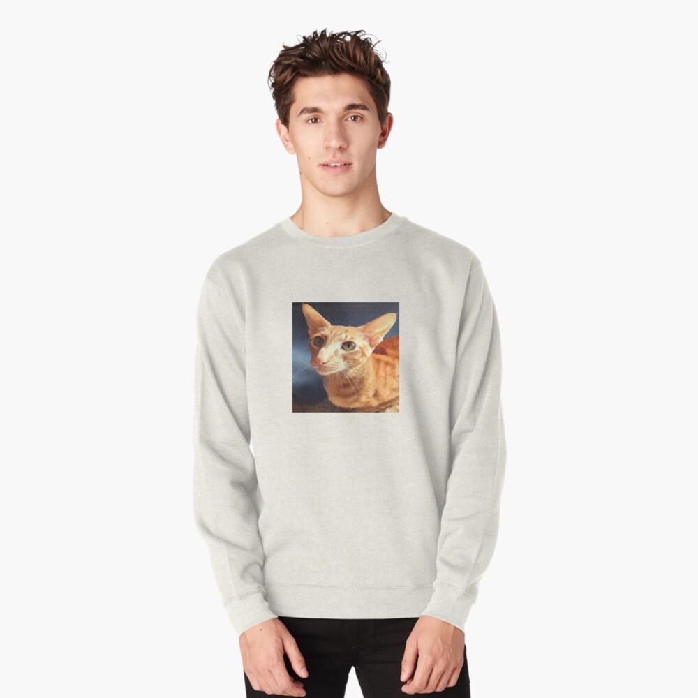 Oriental Cat Pullover Sweatshirt