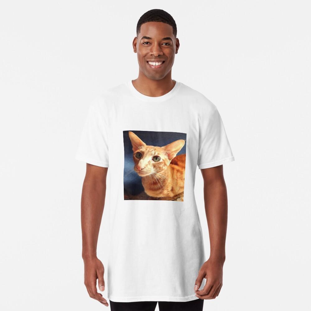 Oriental Cat Long T-Shirt
