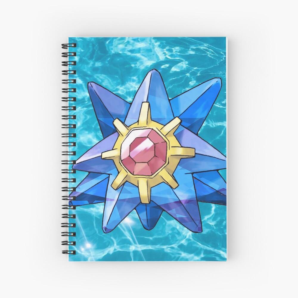 Zafiro Starmie Cuaderno de espiral