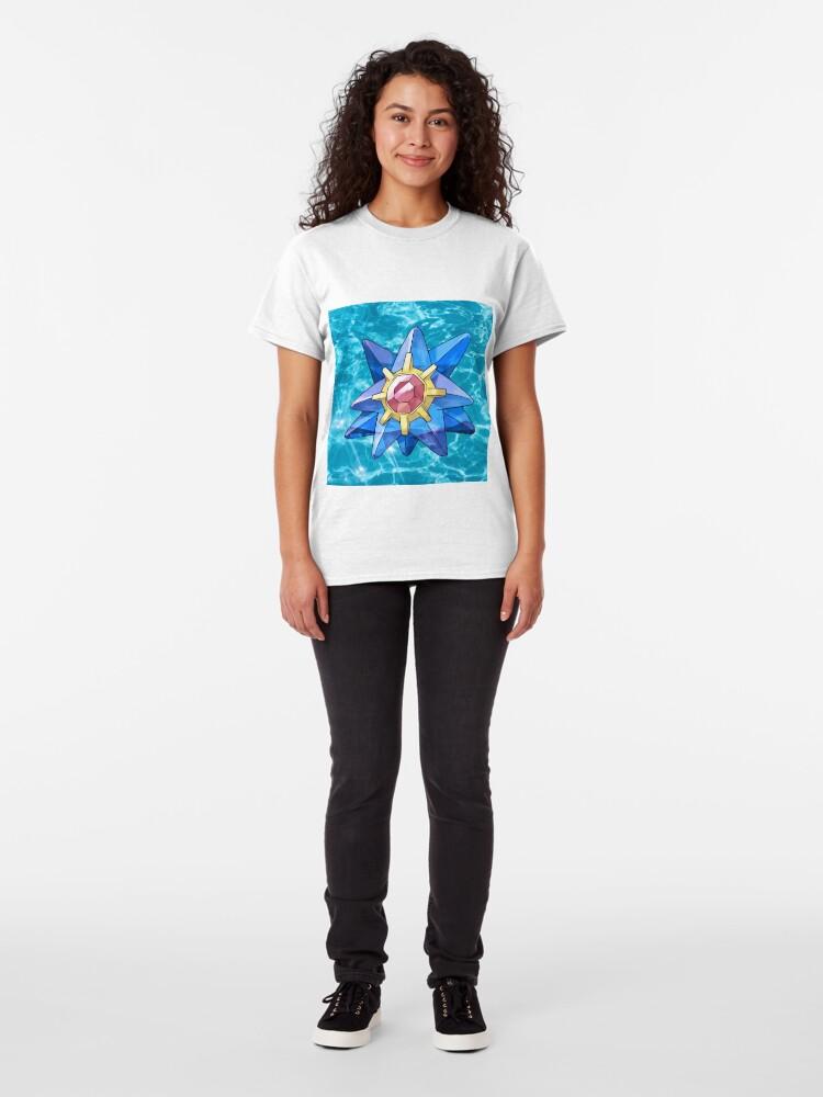 Vista alternativa de Camiseta clásica Zafiro Starmie