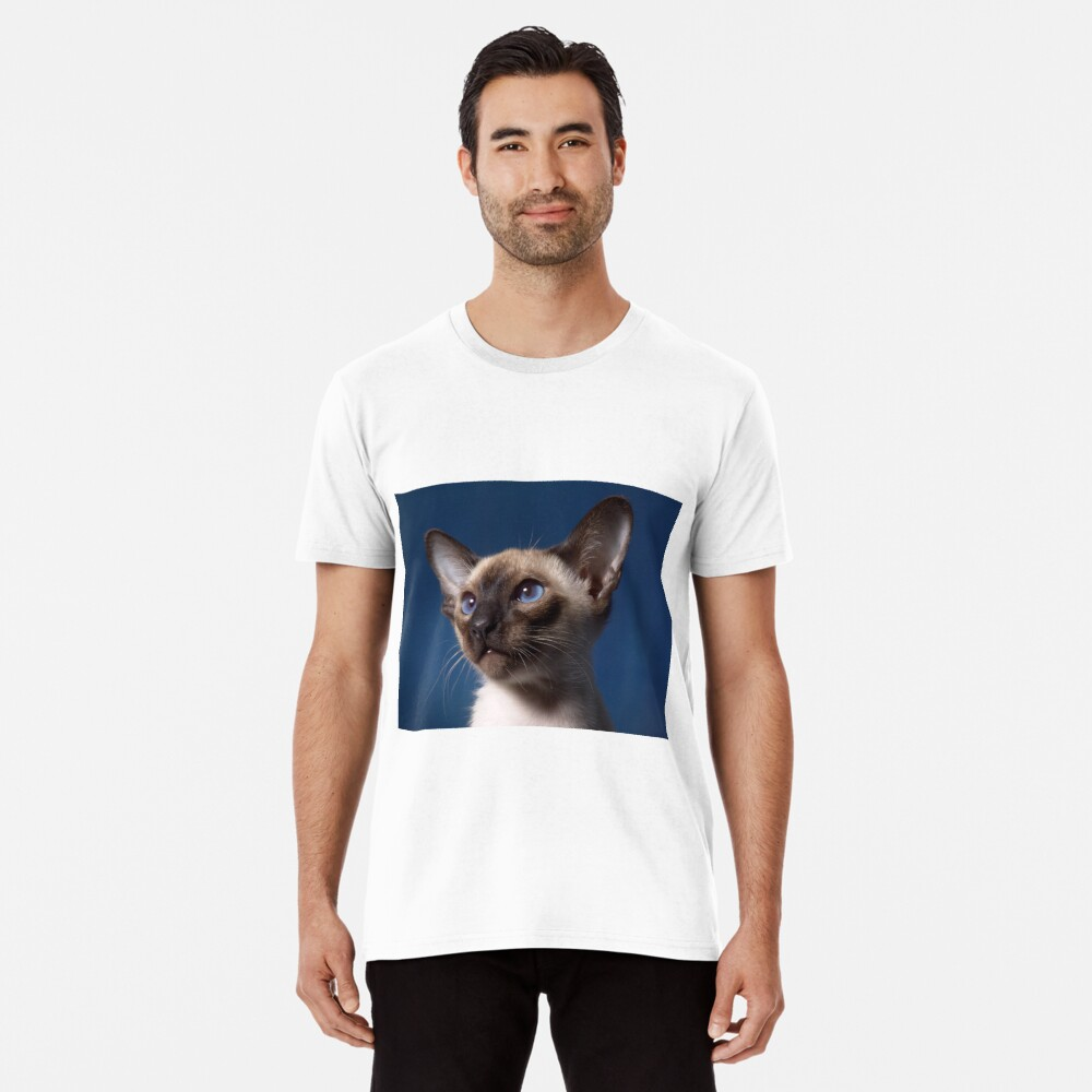 Siamese Cat Premium T-Shirt