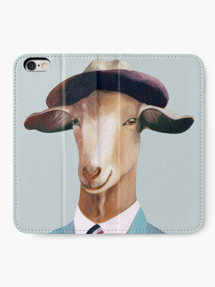 Alternate view of Goat iPhone Wallet