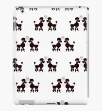French Poodles iPad Case/Skin