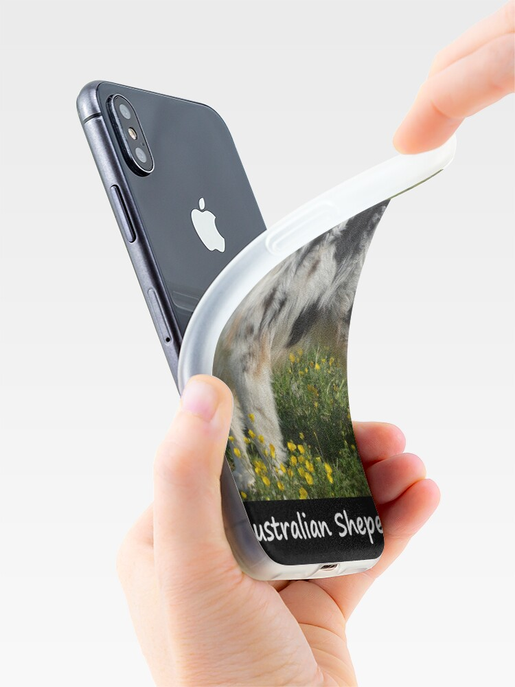 Alternate view of Australian Sheperd iPhone Cases & Covers