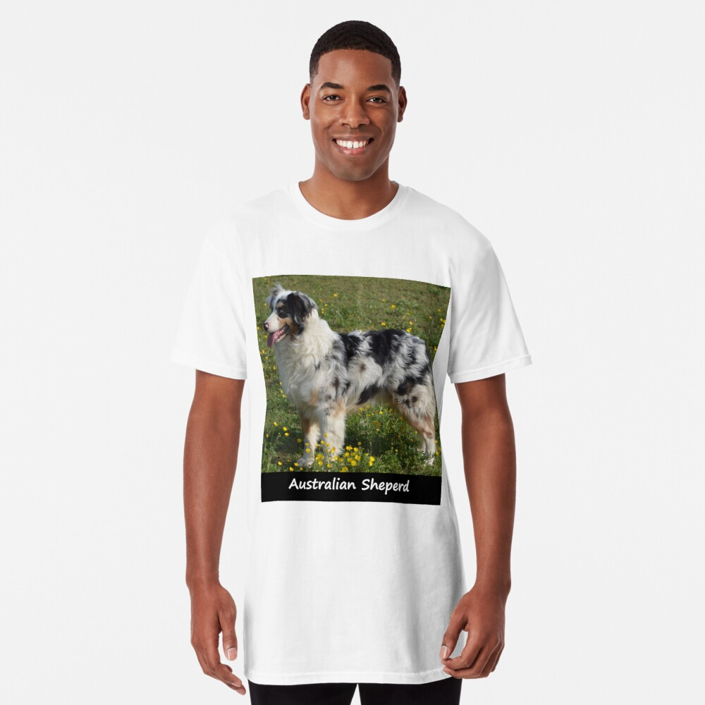 Australian Sheperd Long T-Shirt
