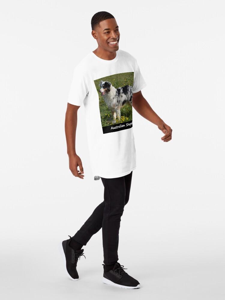 Alternate view of Australian Sheperd Long T-Shirt