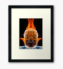 You Burn Me Up Framed Print