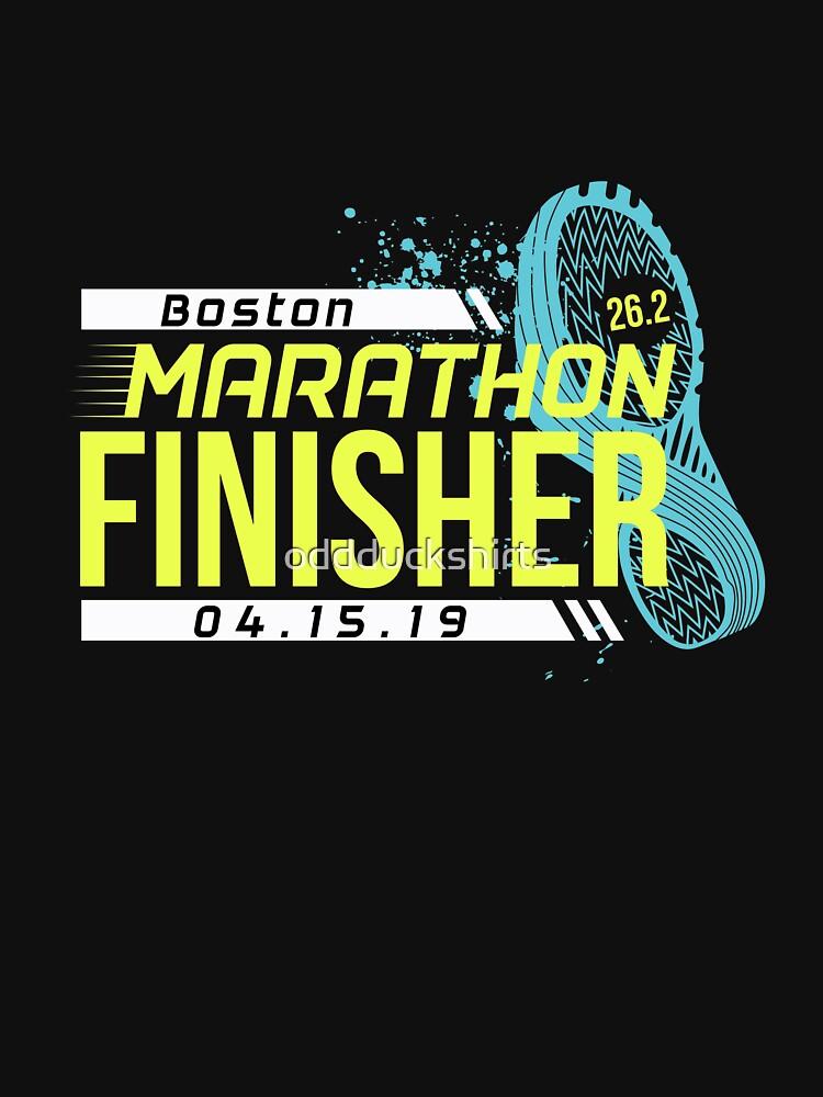 Boston Marathon 2019 by oddduckshirts