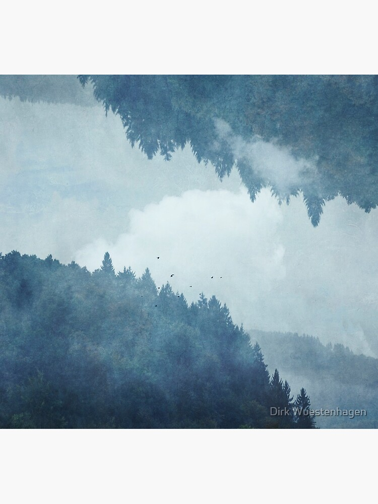 Passing Days - Reflected Landscape by DyrkWyst