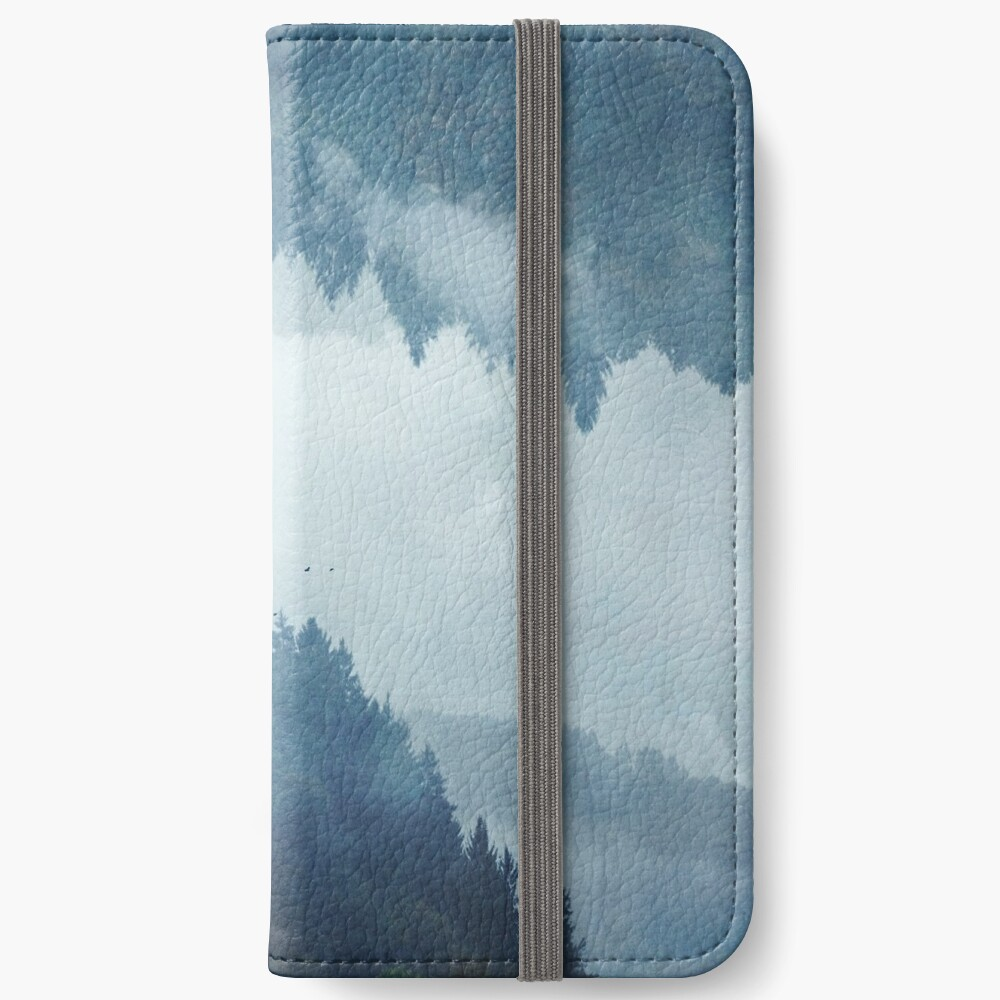 Passing Days - Reflected Landscape iPhone Wallet
