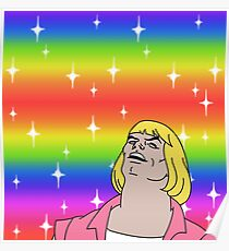 He-Man Gay Pride Poster