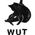 Cat Yoga Wut 1 by tmoriginals