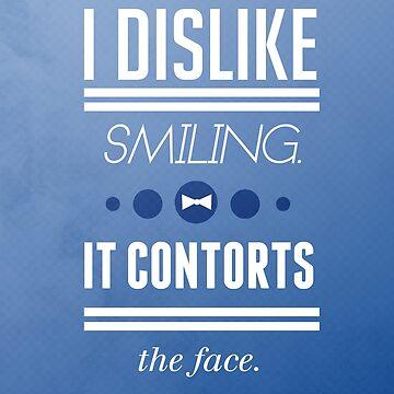 I Dislike Smiling by swansassady