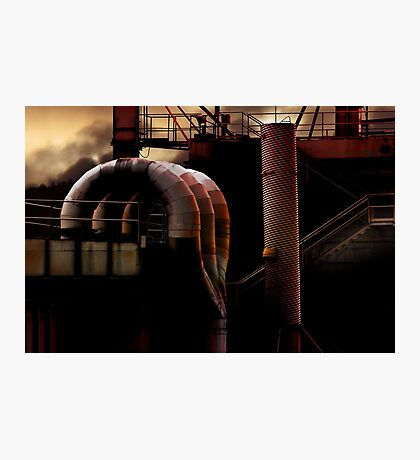 Heavy Metal 1 - The Heat Is On Photographic Print