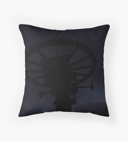 Is there anybody out there? Throw Pillow