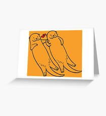 Significant Otters Greeting Card