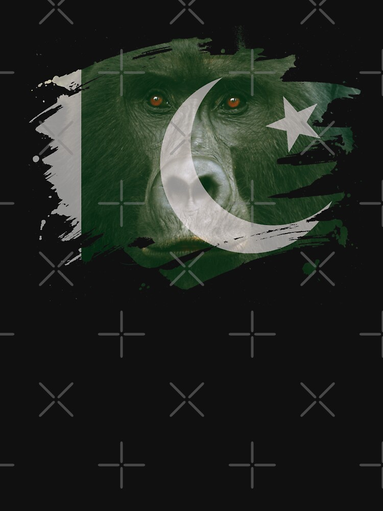 Pakistan Gorilla Flag by ockshirts