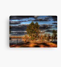 Afternoon by the Lake Canvas Print
