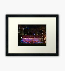 Melbourne Framed Print