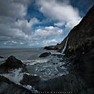 Tresaith Waterfalls by Julie-anne Cooke Photography