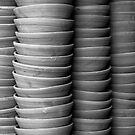 Stacked Bowls by deltagphoto