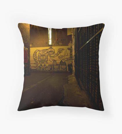 AC DC Lane Melbourne Throw Pillow