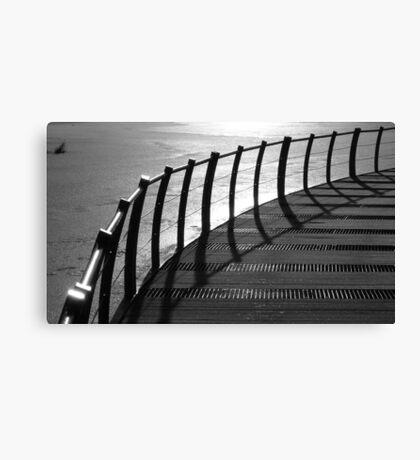Floating Bridge 4 Canvas Print