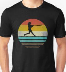 7d5d9fb7 Retro Vintage Softball Coach Player Team Mom Dad Gift Slim Fit T-Shirt