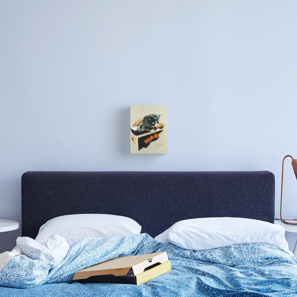 Kia-Ora Kat Canvas Print