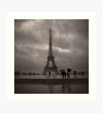 Damien's Paris Holiday Art Print