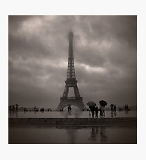 Damien's Paris Holiday Photographic Print