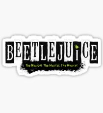 Beetlejuice Musical Broadway Logo Sticker