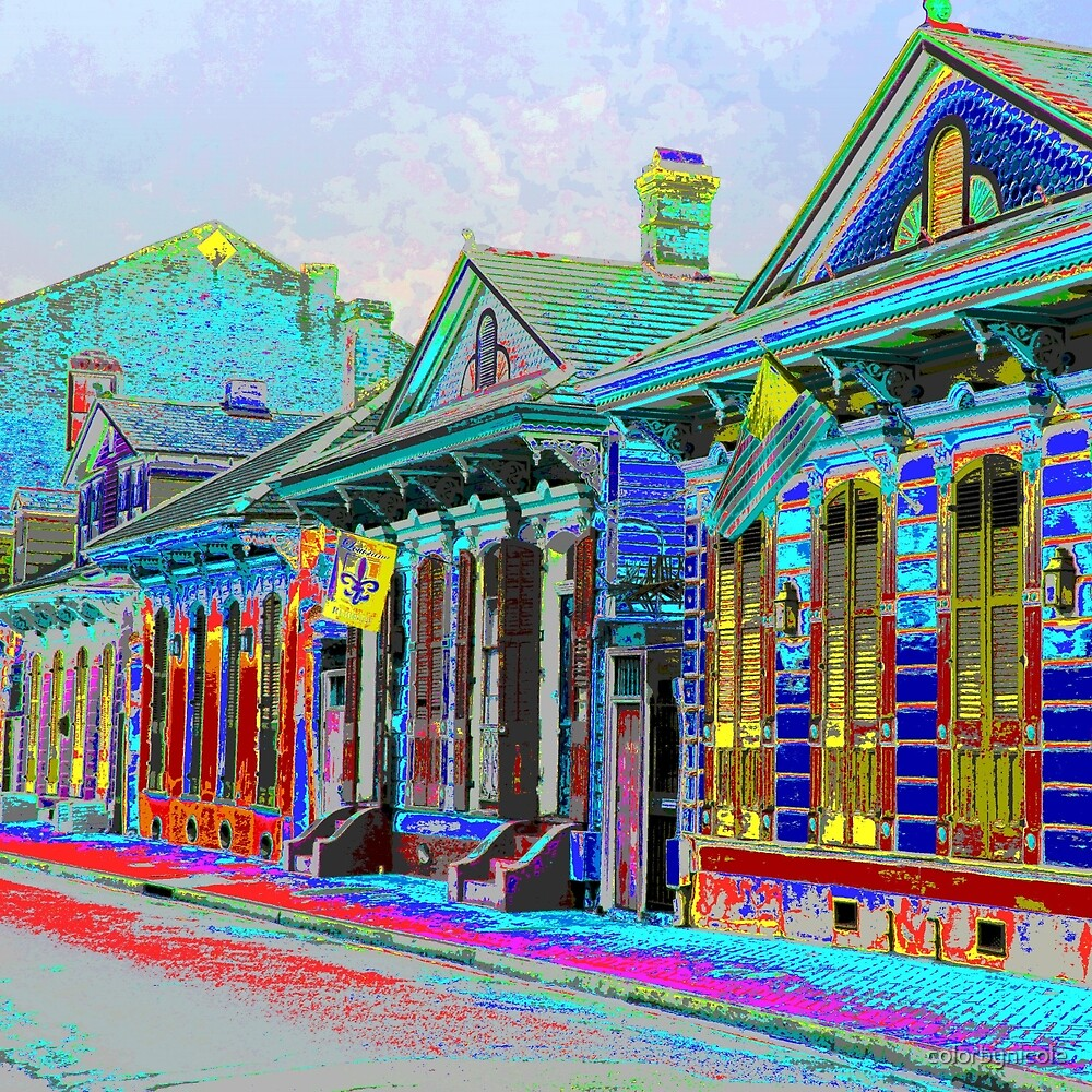 NOLA Houses by colorbynicole