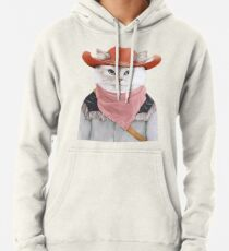 Rodeo Cat Pullover Hoodie
